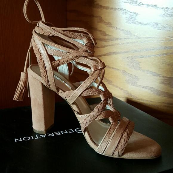 3cab773d901 BCBG Ronny High Heel Strappy Sandal